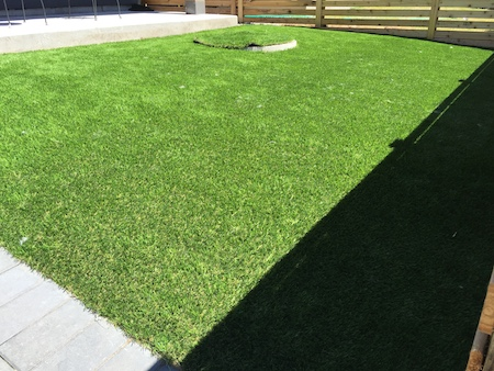 Now, our SYNLawn customer has a natural looking lawn that adds value to his home.