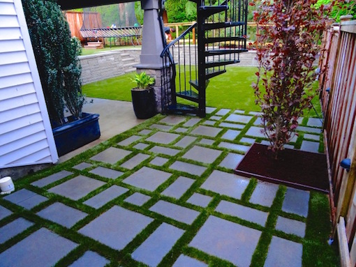 Tilework with SYNLawn